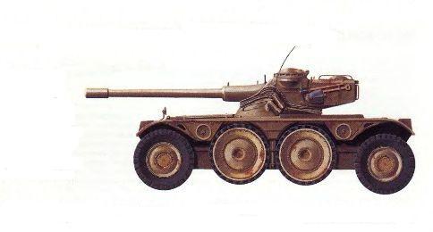 Разведывательная бронемашина EBR «Панар»