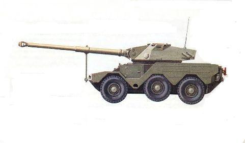 Разведывательная бронемашина ERC «Сагэ