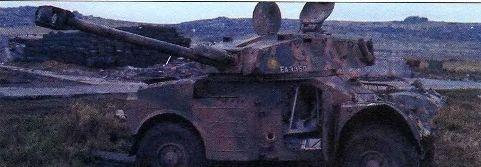 Легкая бронемашина AML-90