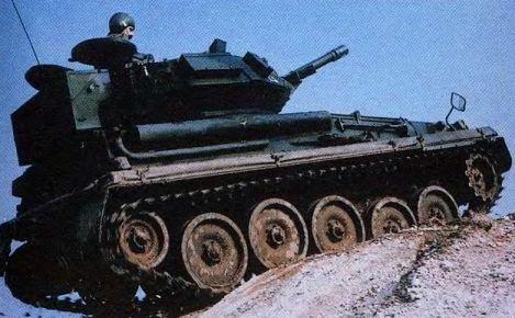 Разведывательный танк «Скорпион»